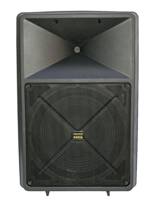 רמקול מוגבר  PRO-TECH 600A