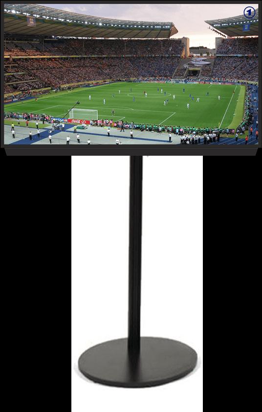 """השכרת מסך LED בגודל 55"""" כולל חצובה"""
