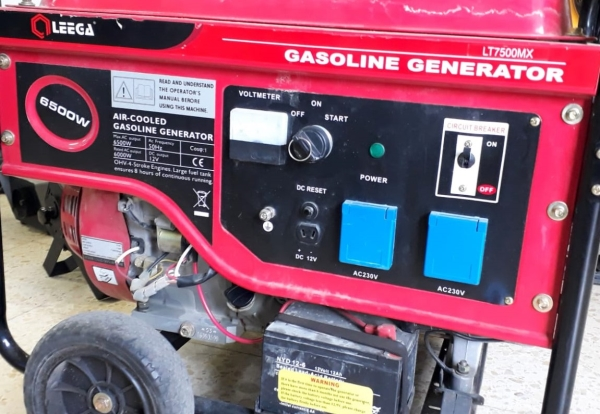 השכרת גנרטור 6500 וואט